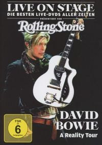 Cover David Bowie - A Reality Tour [DVD]
